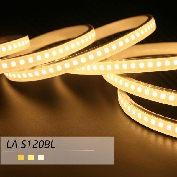 ریسه SMD LED با تراشه 2835 بلو لاین تراکم 120 - با تکنولوژی بدون سیم